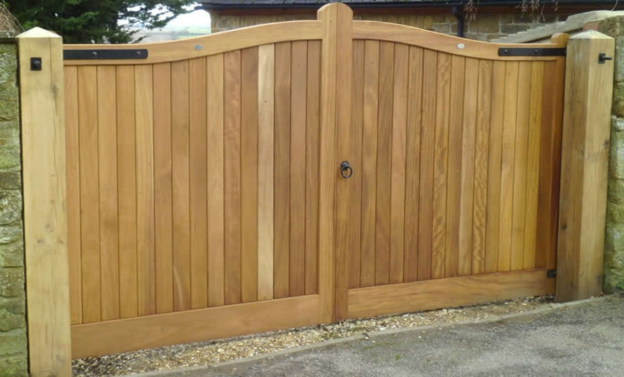 Driveway Gate - Carpentry by Home Improvements Bedford