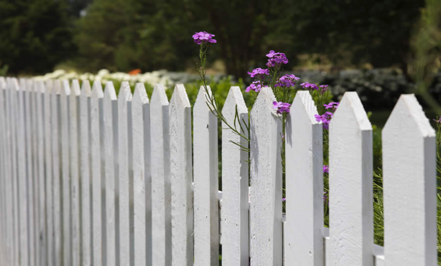 Wooden Picket Fence installation - Home Improvements Bedford